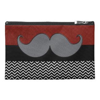 Retro Mustache Moustache Stache Travel Accessories Bags