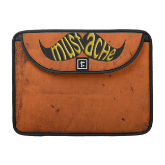 Retro Mustache Moustache Stache Sleeve For MacBooks