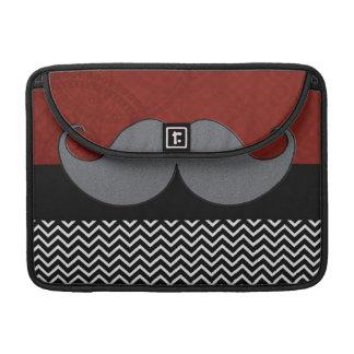 Retro Mustache Moustache Stache Sleeve For MacBook Pro