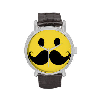 Retro Mustache Moustache Wristwatch