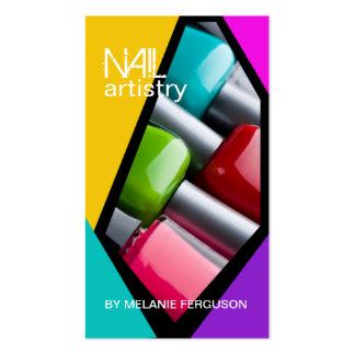 RETRO NAIL ARTIST BUSINESS CARD
