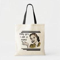 Retro Nana T-shirts and Gifts Tote Bag