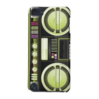 retro neon boom box ghetto blaster boombox iPod touch (5th generation) case