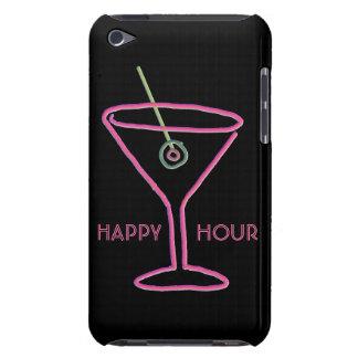 Retro Neon Martini Happy Hour iPod Touch Case
