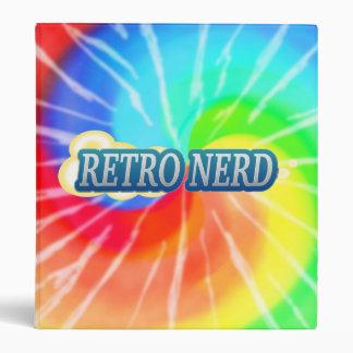 Retro Nerd Vinyl Binder