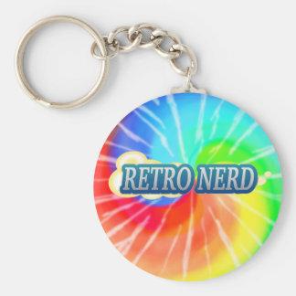 Retro Nerd Key Chain