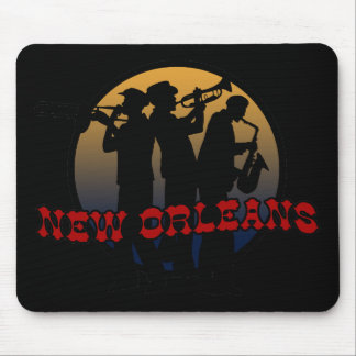 Retro New Orleans Jazz Mouse Pad