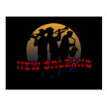 Retro New Orleans Jazz Post Cards