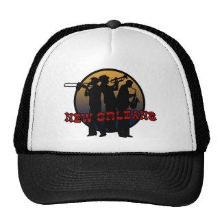 Retro New Orleans Jazz Trucker Hat