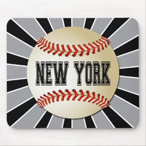 RETRO NEW YORK BASEBALL MOUSE PAD