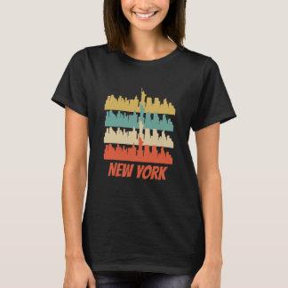 Retro New York City Skyline Pop Art T-Shirt