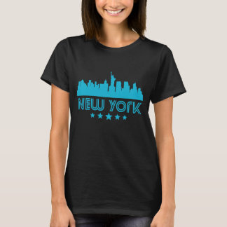 Retro New York City Skyline T-Shirt