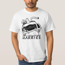 RETRO,NEWLY MARRIED T-Shirt