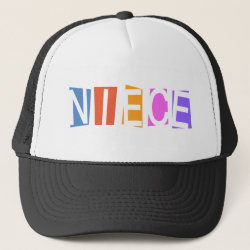 Trucker Hat with Retro Niece design