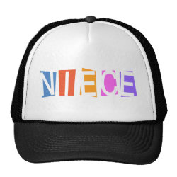 Trucker Hat with Retro Niece design