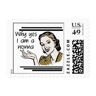 Retro Nonna Tshirts and Gifts Stamp