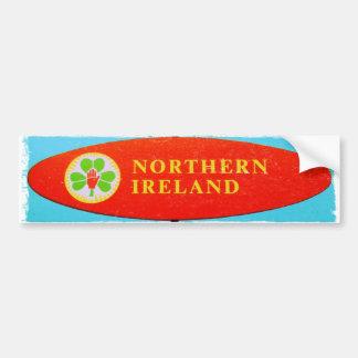 Retro Northern Ireland bumber sticker