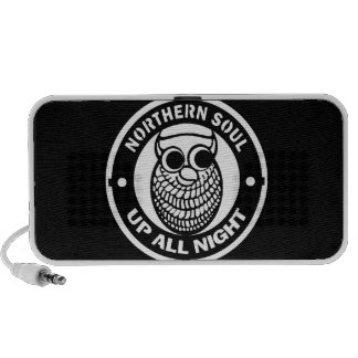 Retro Northern Soul Up All Night Portable Speaker