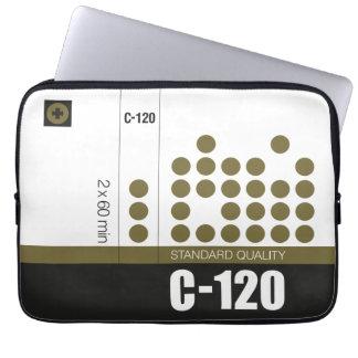 Retro nostalgic music lover cassette graphic computer sleeve