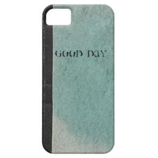 Retro note book template vintage green iPhone5Case iPhone 5 Case