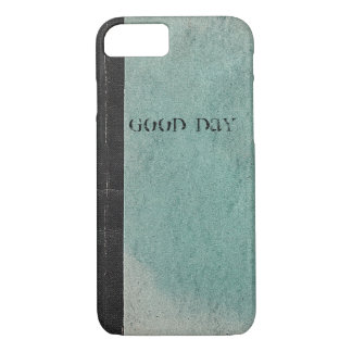 Retro note book template vintage green iPhone5Case iPhone 7 Case
