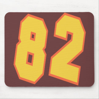 RETRO NUMBER 82 MOUSE PAD