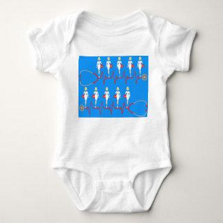 Retro Nurse Infant Creeper
