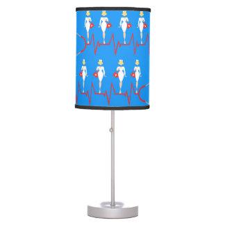 Retro Nurse Table Lamp
