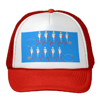 Retro Nurse Trucker Hat