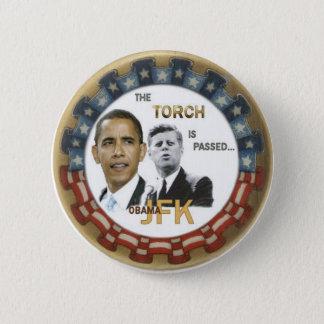 Retro Obama/JFK Button