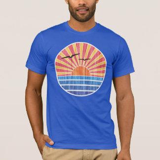 Retro Ocean Sunset T-Shirt