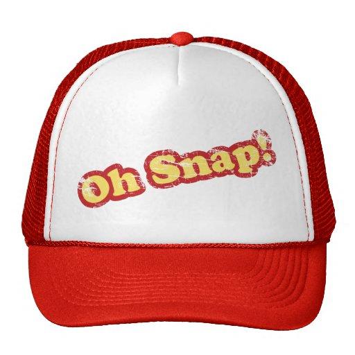 Retro Oh Snap Trucker Hat