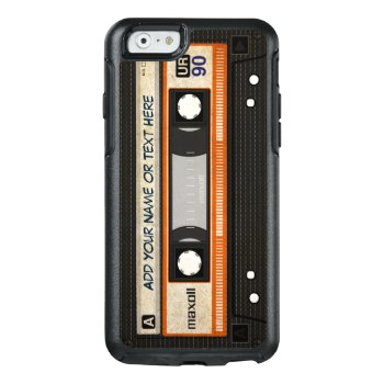 Retro Old Fashioned 80s Mixtape Audio Cassette Otterbox Iphone 6/6s Case by CityHunter at Zazzle