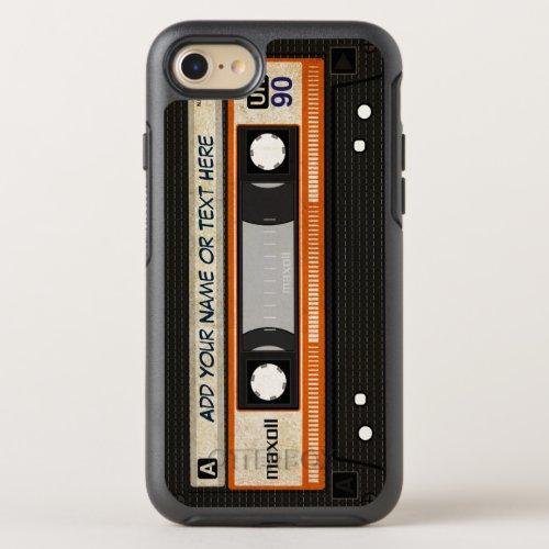 Retro Old Fashioned 80s Mixtape Audio Cassette OtterBox Symmetry iPhone 87 Case