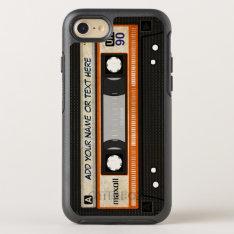 Retro Old Fashioned 80s Mixtape Audio Cassette Otterbox Symmetry Iphone 7 Case at Zazzle