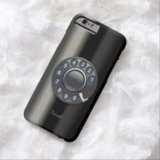 Retro Old Rotary Dial Phone Metallic iPhone 6 Case