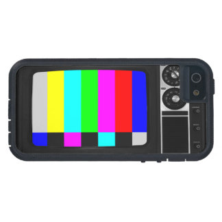 Retro Old TV with Color Bar iPhone 5/5s Case