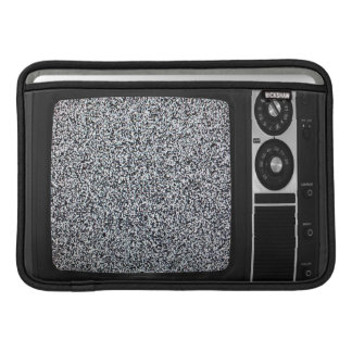 Retro Old TV with Static Screen Case Cover MacBook Air Sleeve