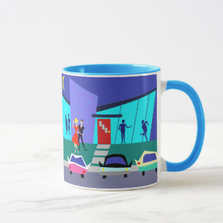 Retro Open House Party Mug