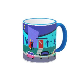 Retro Open House Party Mug