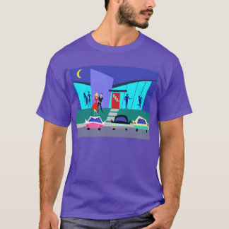 Retro Open House Party T-Shirt