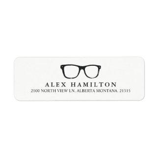 Retro Optics   Personalized Return Address Label
