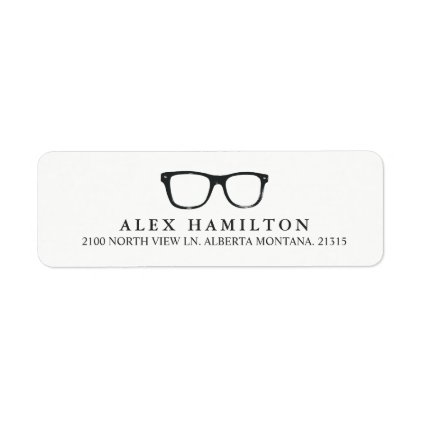 Retro Optics | Personalized Return Address Label