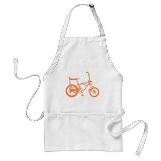 Retro Orange Krate Banana Seat Bike Aprons