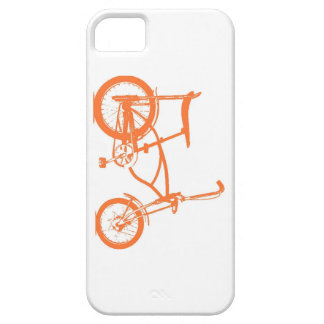 Retro Orange Krate Banana Seat Bike iPhone SE/5/5s Case