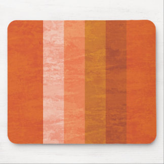 Retro Orange Mouse Pad
