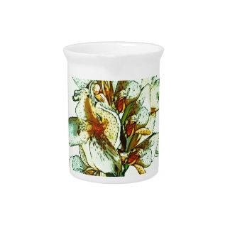 Retro orchids pitchers