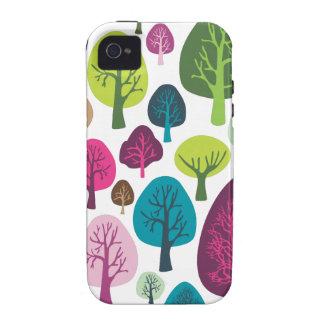 Retro organic tree plant pattern iphone case iPhone 4/4S case