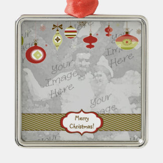 Retro Ornaments Photo Frame Template