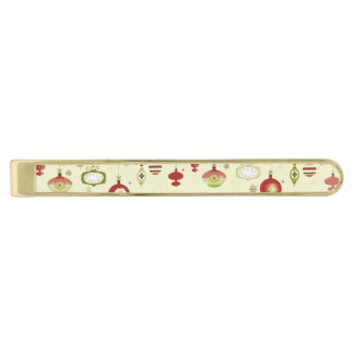 Retro Ornaments Photo Frame Template Gold Finish Tie Bar